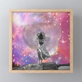 Pink Moon Surrender Framed Mini Art Print