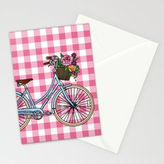 Her Bicycle Stationery Cards