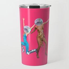 party people pink Travel Mug