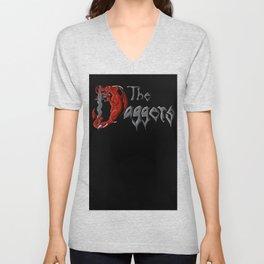 Daggers T-shirt Unisex V-Neck