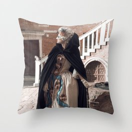 Venice dream Throw Pillow