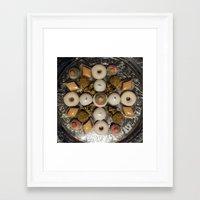 oriental Framed Art Prints featuring Oriental by oxana zaika