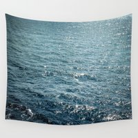 The Sparkle of the Sea Wall Tapestry