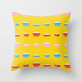 Kitschy Kitschen Throw Pillow
