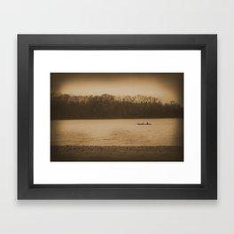 Voyage Charm Framed Art Print