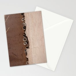 rotated rustic roof Stationery Cards