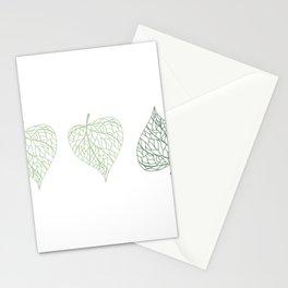Linden leaves Stationery Cards