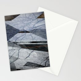 Geometric Abstact Trees Stationery Cards
