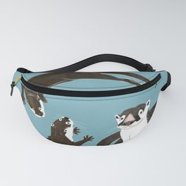 Asiatic and African clawless otter Fanny Pack