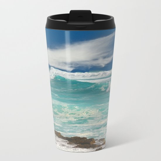 Wild Atlantic Metal Travel Mug