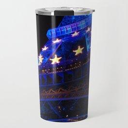 The Eiffel Tower's Illuminations Travel Mug