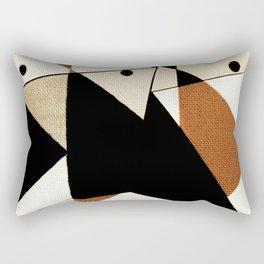 The Angular Birds Rectangular Pillow