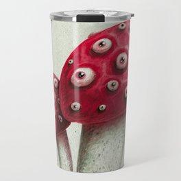 Mushroom Amanita Travel Mug