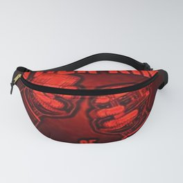"Vintage ""The Other Kind of Socialist"" Alcoholic Lithograph Advertisement in bright Commie Red! Fanny Pack"
