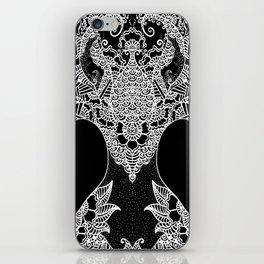 Unity of Halves - Life Tree - Rebirth - Black iPhone Skin