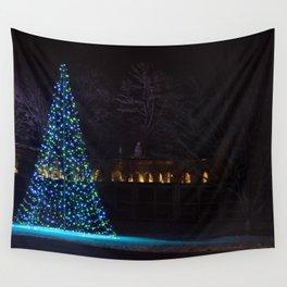 Longwood Gardens Christmas Series 123 Wall Tapestry