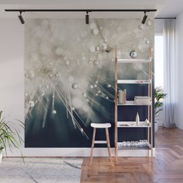 dandelion evening blue Wall Mural