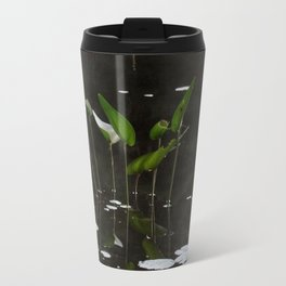 Pickerel Weeds and Lily Pads Travel Mug