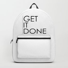 Get It Done Backpack