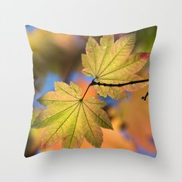 In The Fall / 5 Throw Pillow