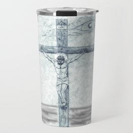 I preach Christ & Christ Crucified Travel Mug