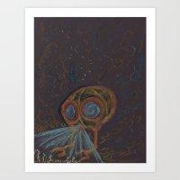 SteamPunk Submersible Art Print