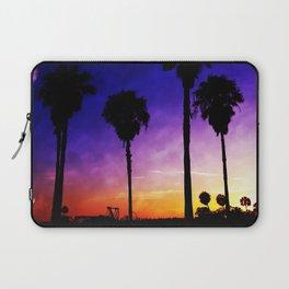 Purple Sunset Laptop Sleeve