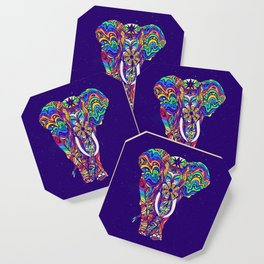 Not a circus elephant #violet by #Bizzartino Coaster