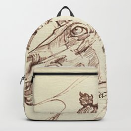 Leonardo Da Vinci, The Four Horses of Apollo Backpack