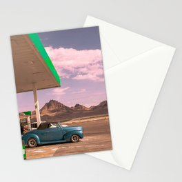 Gas Station in Utah / Americana Stationery Cards