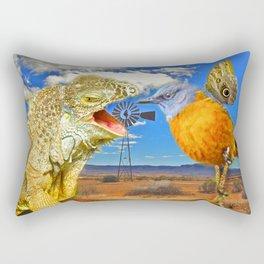Tourists in Namaqualand Rectangular Pillow