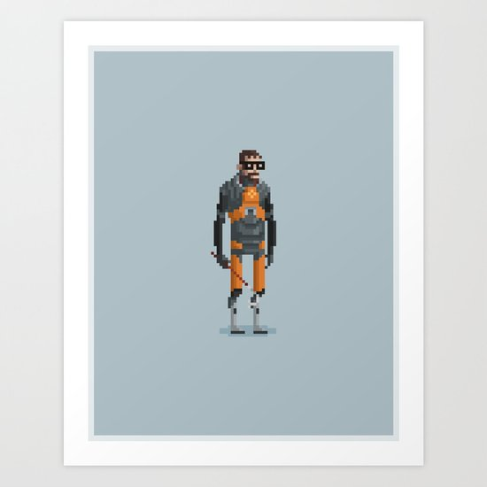 Man With a Crowbar Art Print