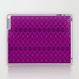 Magenta Damask Pattern Laptop & iPad Skin