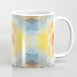 Kaleidoscopic design in soft colors Coffee Mug