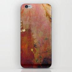 Woman In Red iPhone & iPod Skin