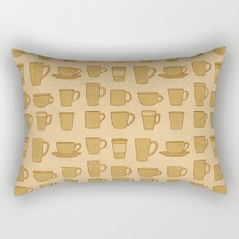Coffee stained Rectangular Pillow