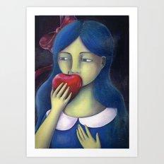 Biancaneve Art Print