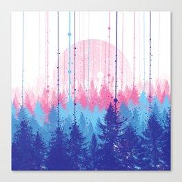 rainy forest 2 Canvas Print
