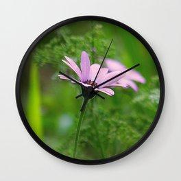 Pink Daisy Photo Wall Clock