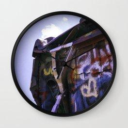 Cadillac Ranch Wall Clock