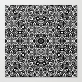 Elegant Geometry Mandala Canvas Print