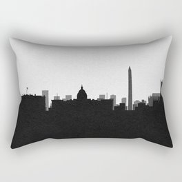 City Skylines: Washington, D.C. Rectangular Pillow