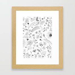 wall of nature Framed Art Print