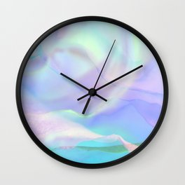 Essence of Rose IX Wall Clock