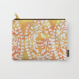 Gelatin Monoprint 4 Carry-All Pouch