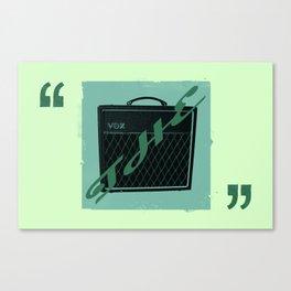 The Vox Canvas Print