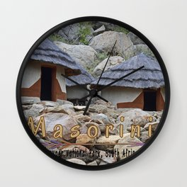 Masorini, Kruger Park Wall Clock