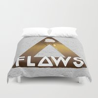 bastille Duvet Covers featuring Bastille #1 Flaws by Thafrayer