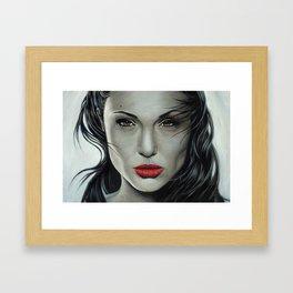 Angelina Jolie Framed Art Print