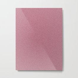 Dense Melange - White and Burgundy Red Metal Print